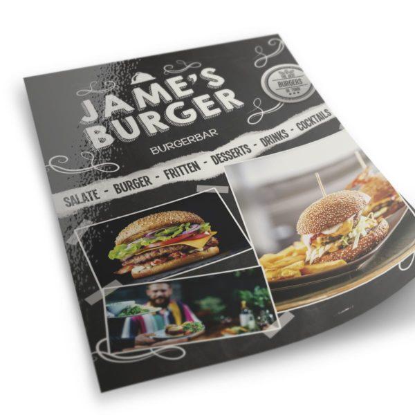 James Burger Flyergestaltung